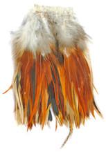 Strung Saddle Dyed Natural